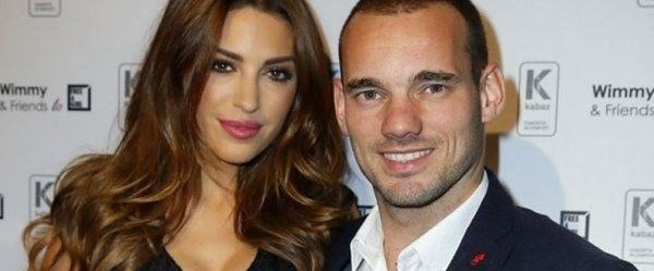 Yolanthe Cabau'dan Wesley Sneijder'a barışma şartı