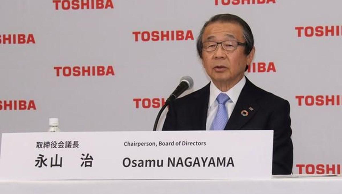 Toshiba Yönetim Kurulu Başkanı, görevden alındı