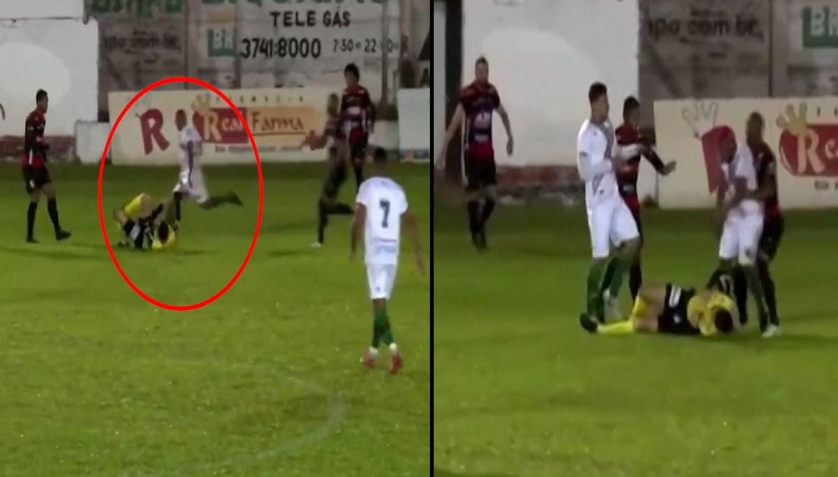 Futbolcu hakeme tekme attı: 'Cinayete teşebbüs'ten yargılanacak