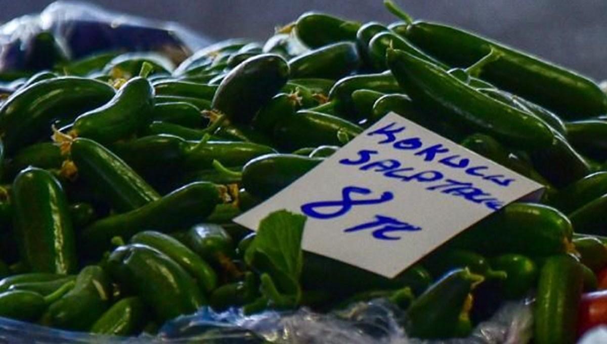 Kısıtlamada salatalık çürüdü: Pazarda 8 liraya yükseldi