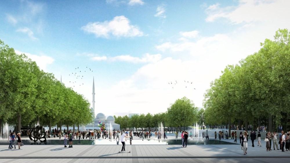 Taksim Meydanı Tasarım Yarışması sonuçlandı (Taksim Meydanı böyle olacak) - 37