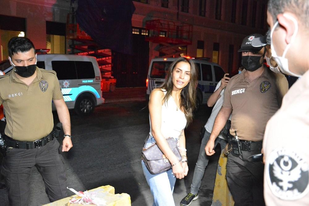 Ünlü oyuncu Ayşegül Çınar bıçaklı kavga sonrası gözaltında:7'si polis 12 yaralı - 3