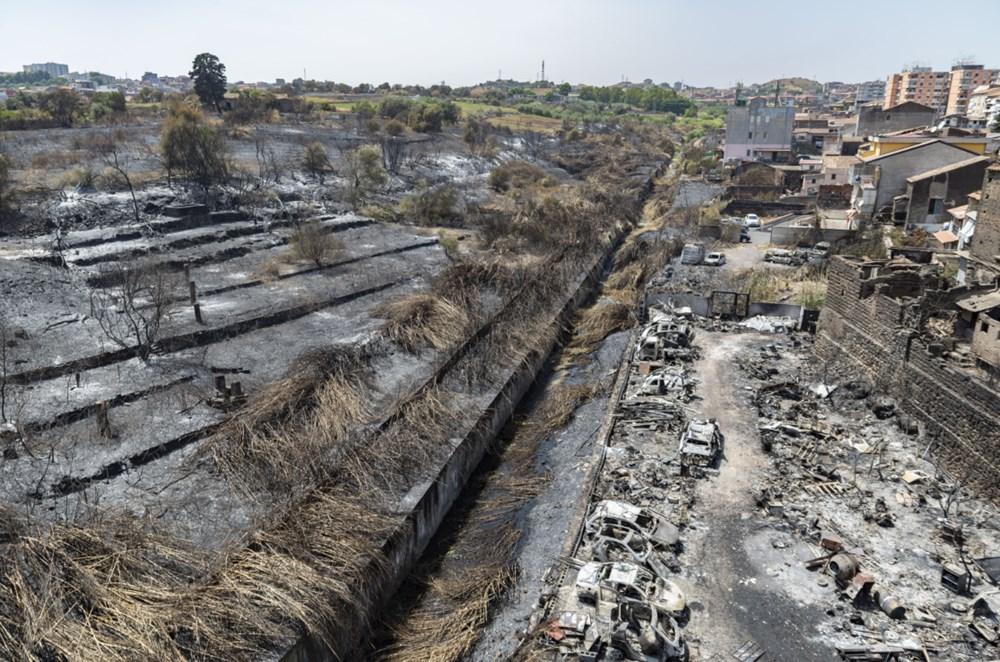 Akdeniz alev aldı: Yunanistan ve İtalya'da orman yangınları sürüyor - 16