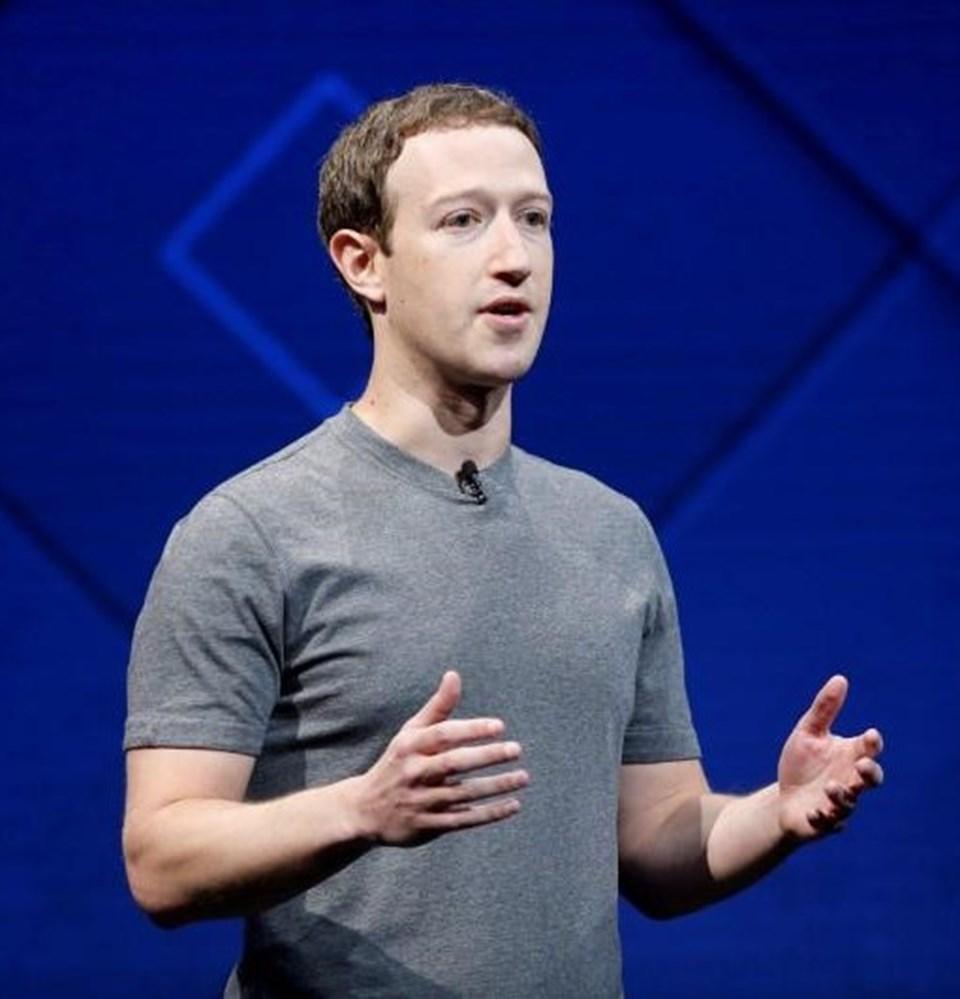 98 milyar dolarlık kişisel serveti ile en zenginler listesinin üst sıralarında yer alan Mark Zuckerberg, Facebook, Instagram ve WhatsApp'ın patronu.