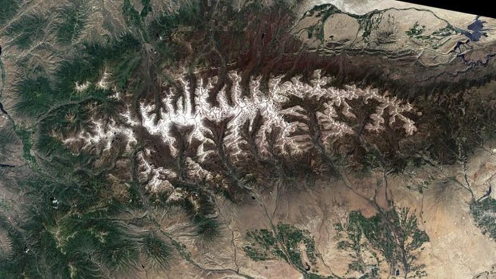 NASA Trump'ın 'büyük felaket' ilan ettiği yangınların uydu görüntülerini yayınladı - 36