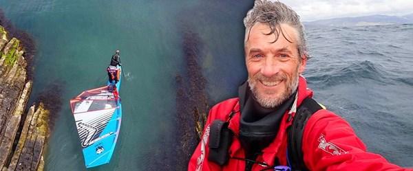 Sörf tahtasıyla dünya turu yapan Norveçli gezgin: Jono Dunnett