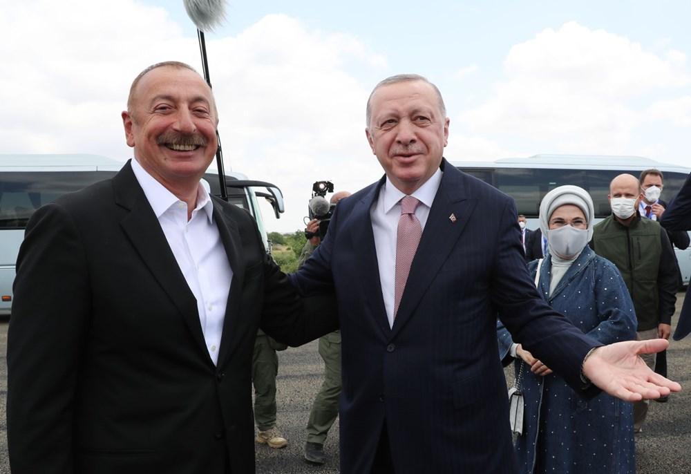 Cumhurbaşkanı Erdoğan, Azerbaycan'da - 4