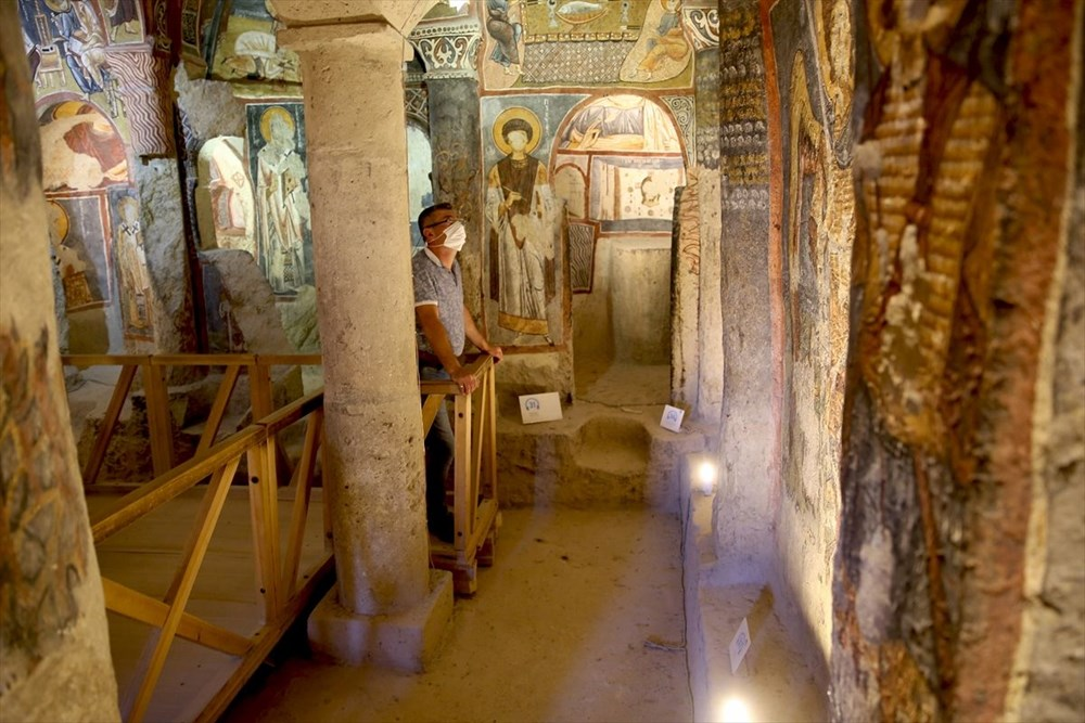 Karanlık Kilise'nin freskleri ile bin yıl öncesine yolculuk - 5