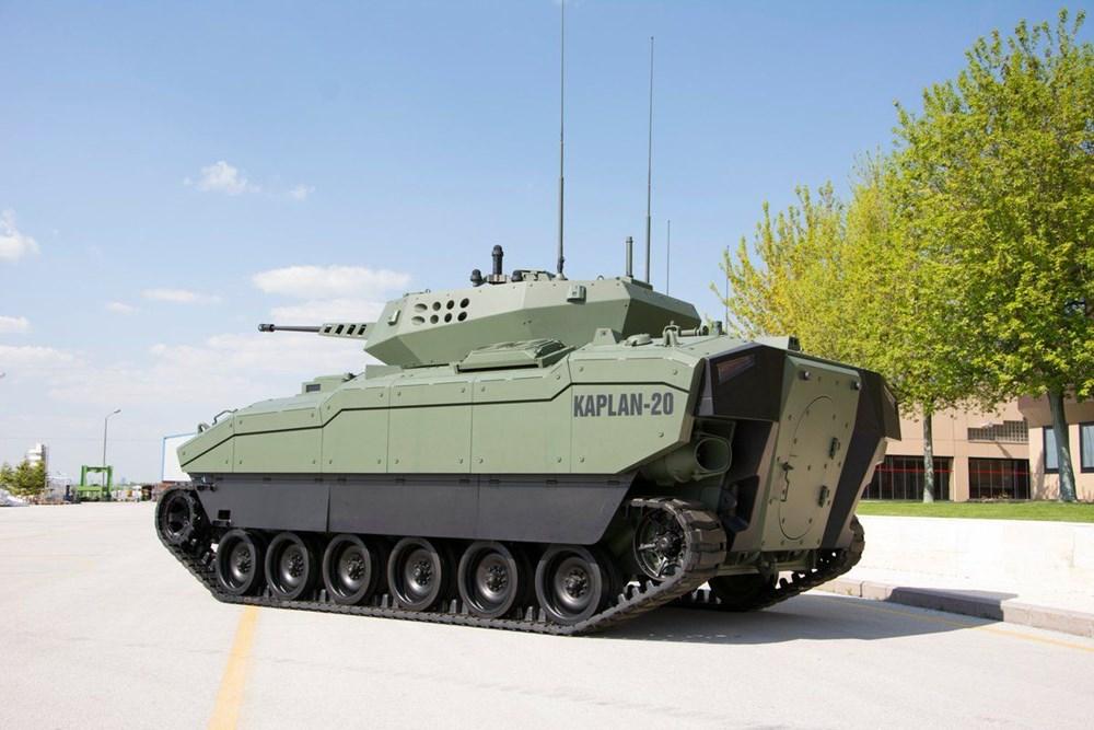 Dijital birliğin robot askeri Barkan göreve hazırlanıyor (Türkiye'nin yeni nesil yerli silahları) - 193