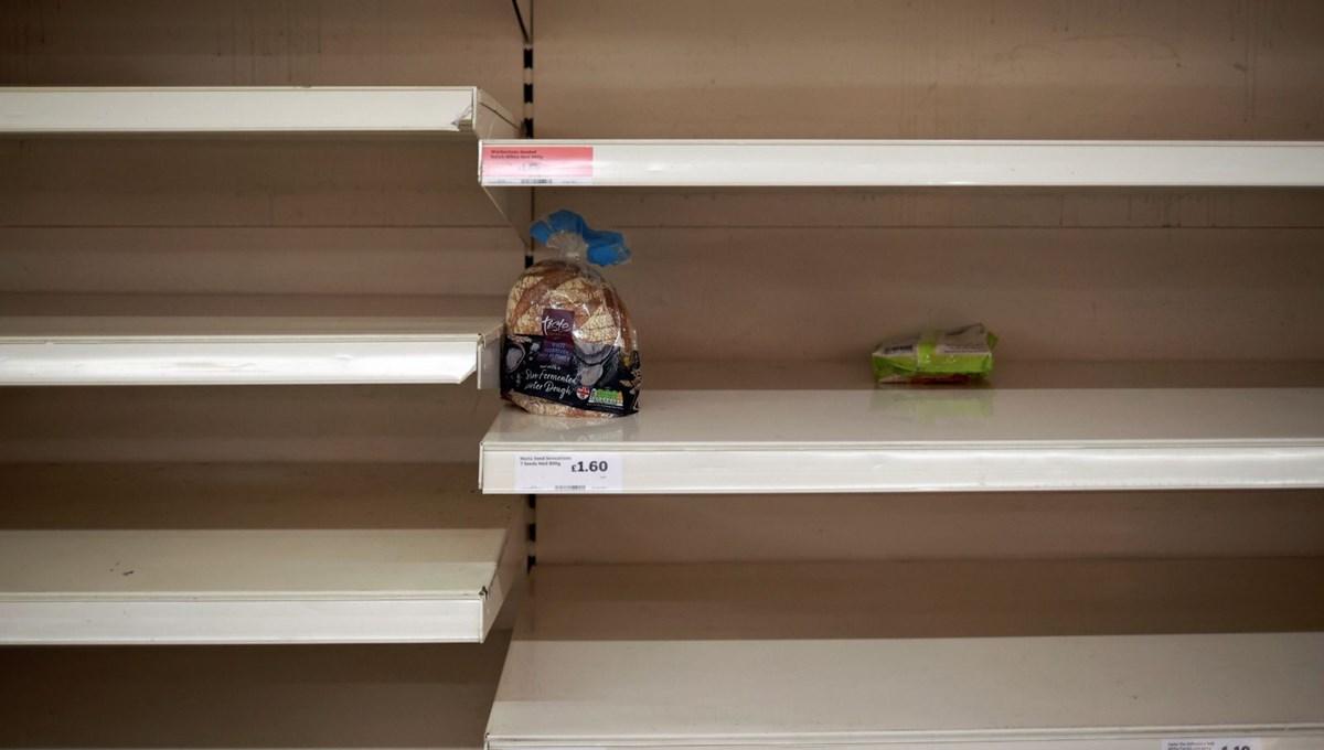 İngiltere'de marketlerde ürün sınırı getirildi