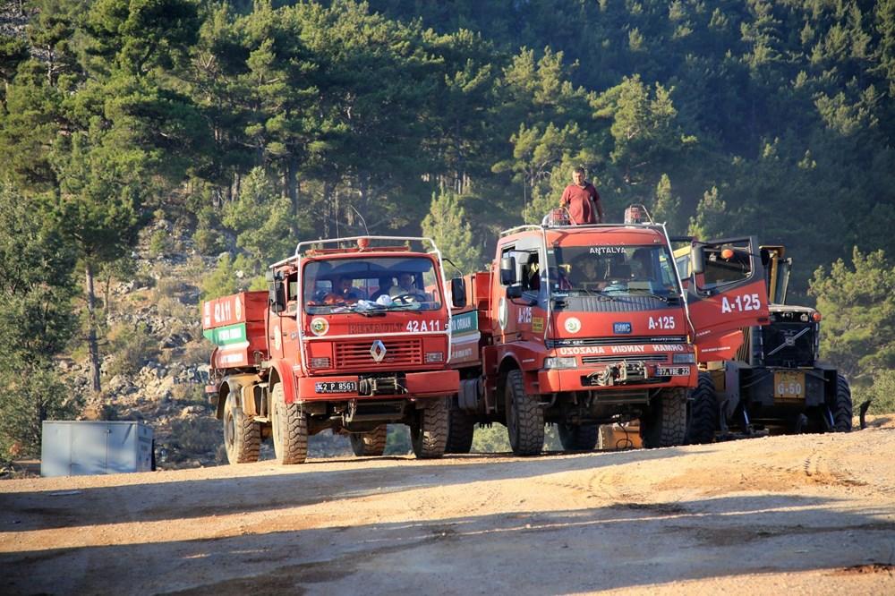 Mersin ve Hatay'daki orman yangınları kontrol altına alındı - 6