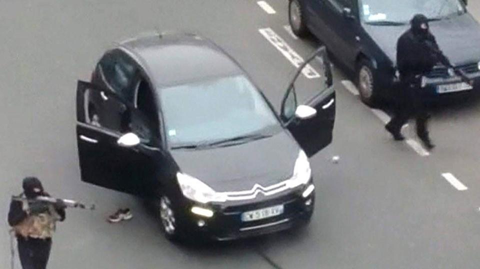 Charlie Hebdo baskını, bu görüntülerle akıllarakazındı