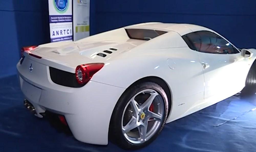 Tosuncuk'un Uruguay maceraları 3: Başını yakan Ferrari'nin görüntüleri ortaya çıktı - 5