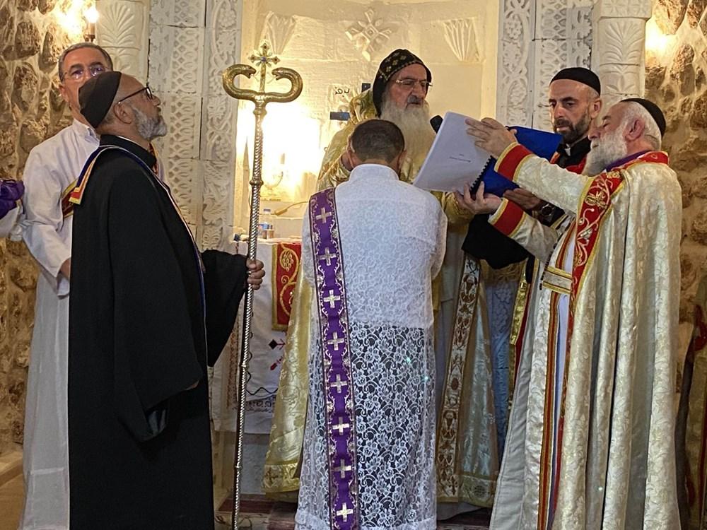 Midyat'ta Süryani cemaatinden 30 yıl sonra papaz töreni - 9