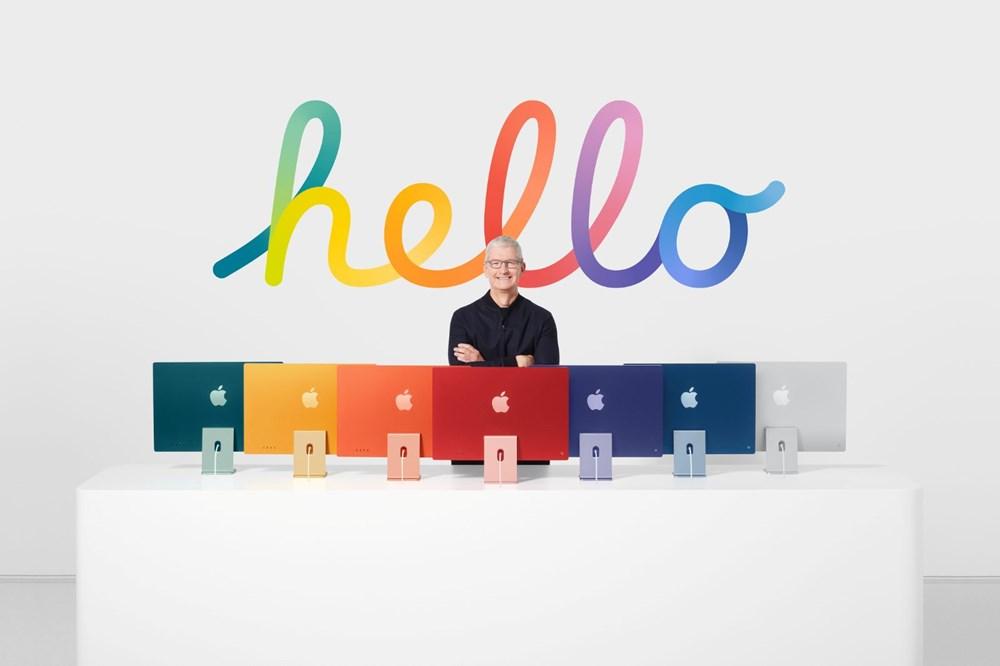 Apple yeni ürünlerini tanıttı: Renkli iMac ve 'en güçlü tablet' iPad Pro damga vurdu - 3