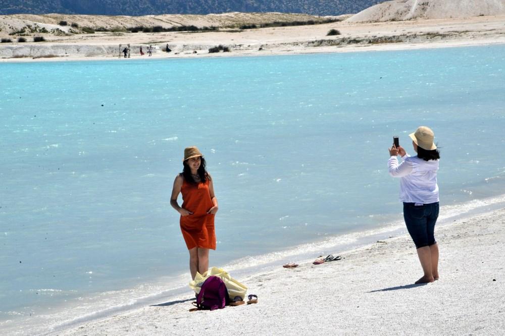 Bakan duyurdu: Salda'nın 'Beyaz Adalar' bölgesinde göle girilmesi yasaklanabilir - 9