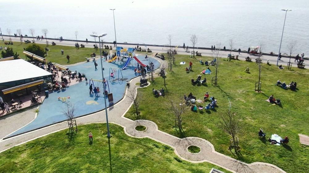 Kademeli normalleşmede 2. hafta sonu: Sahil ve parklar doldu - 4