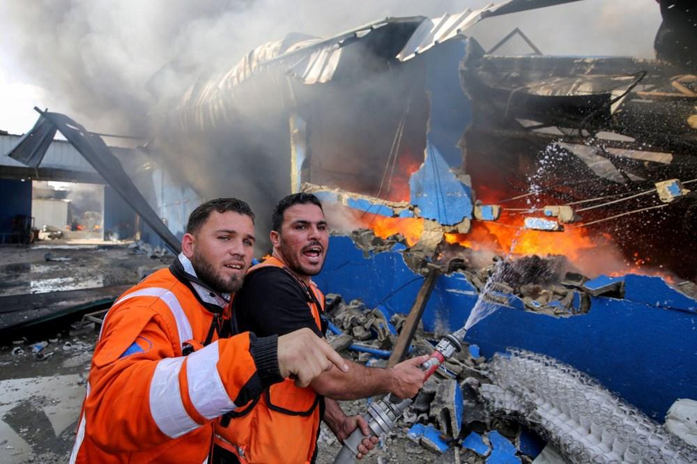 İsrail'in Gazze'ye saldırılarının bir haftalık bilançosu: 200 ölü, bin 307 yaralı - 3