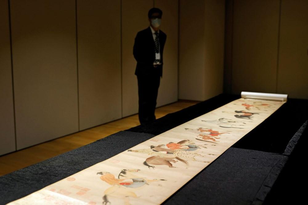 Hong Kong'da 700 yıllık resimli parşömen 41,8 milyon dolara satıldı - 4