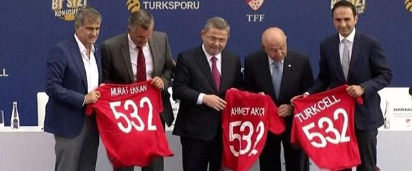 TFF ve Turkcell sponsorluk anlaşması imzaladı