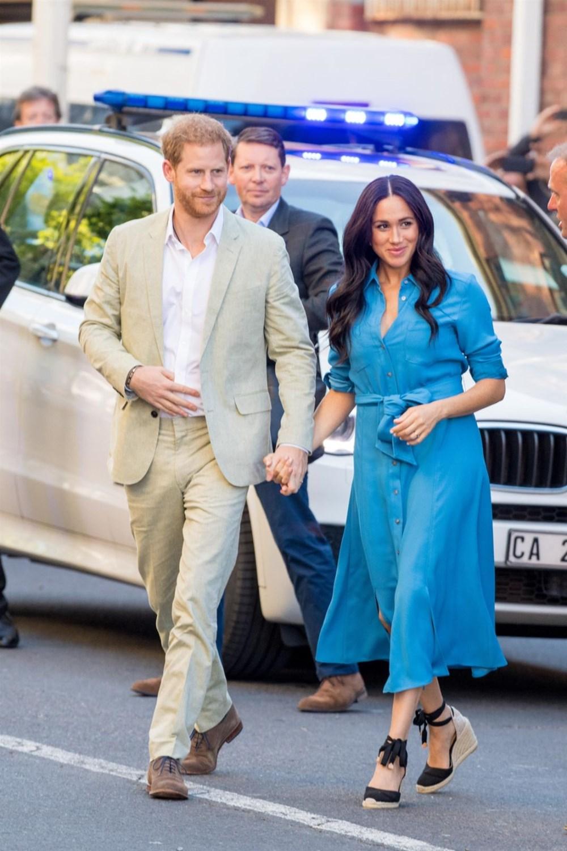 Meghan Markle, Prens Harry ile birlikte Londra'ya gidiyor - 7