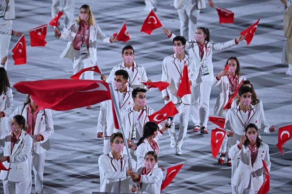 2020 Tokyo Olimpiyatları görkemli açılış töreniyle başladı - 17