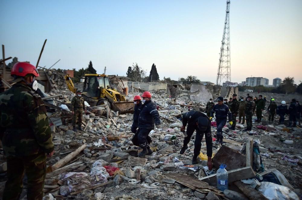 Ermenistan'ın Gence'ye füze saldırısının şiddeti gün ağarınca ortaya çıktı - 2