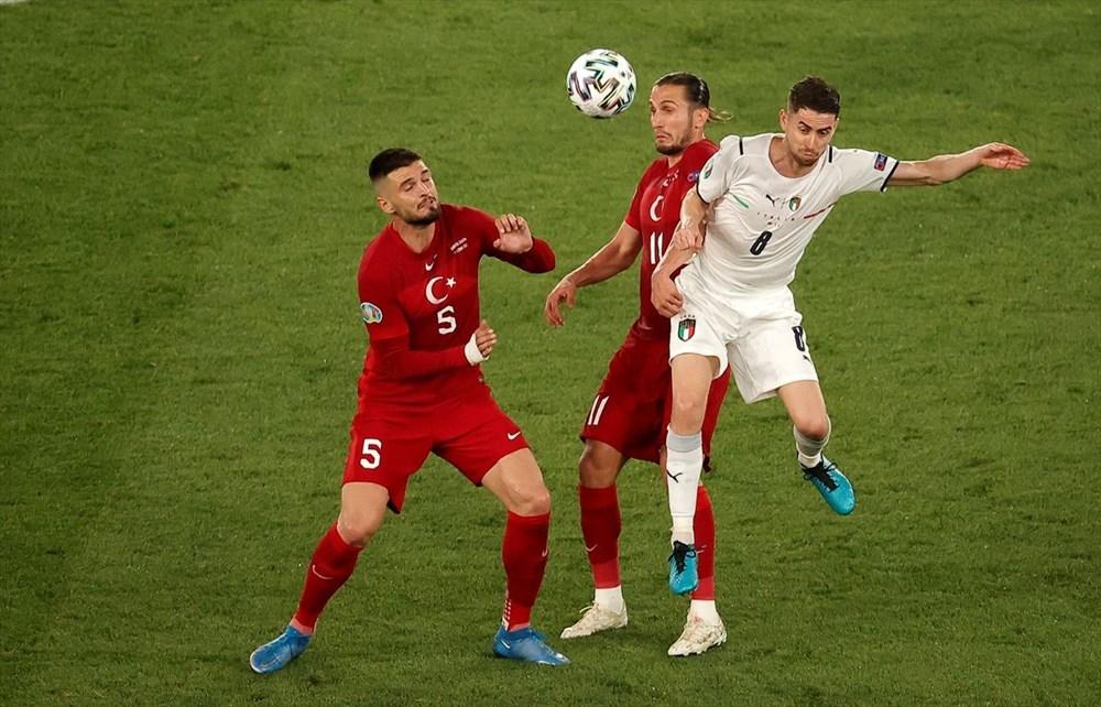 Milli Takım açılış maçında İtalya'ya yenildi (EURO 2020 - Türkiye:0 İtalya:3) - 13