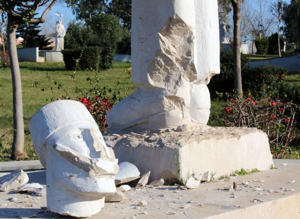 Antalya'da heykel saldırıları devam ediyor - 2