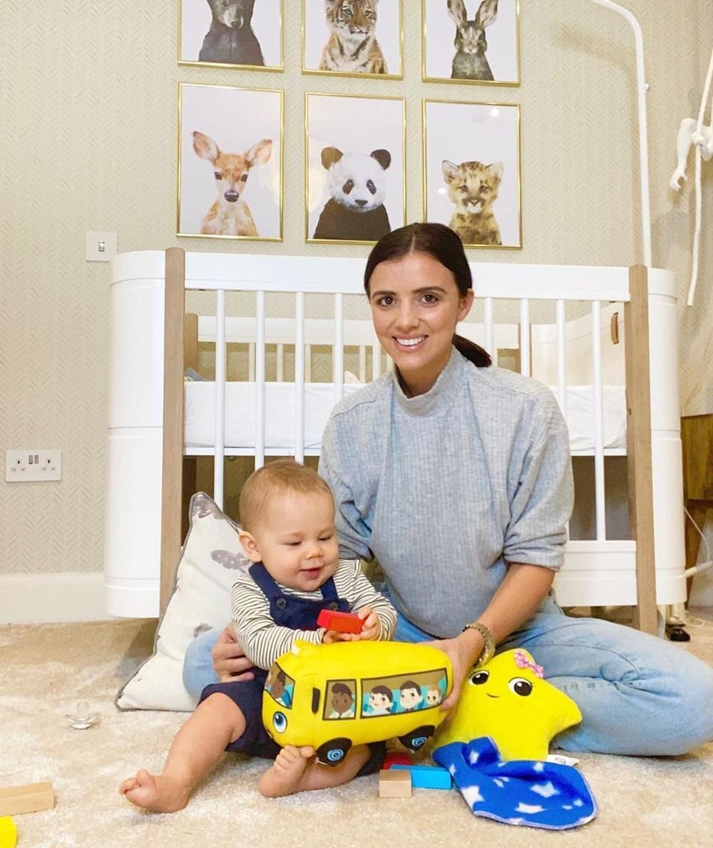 Lucy Mecklenburgh: Bebeğim bir parça elmayla boğuluyordu - 9