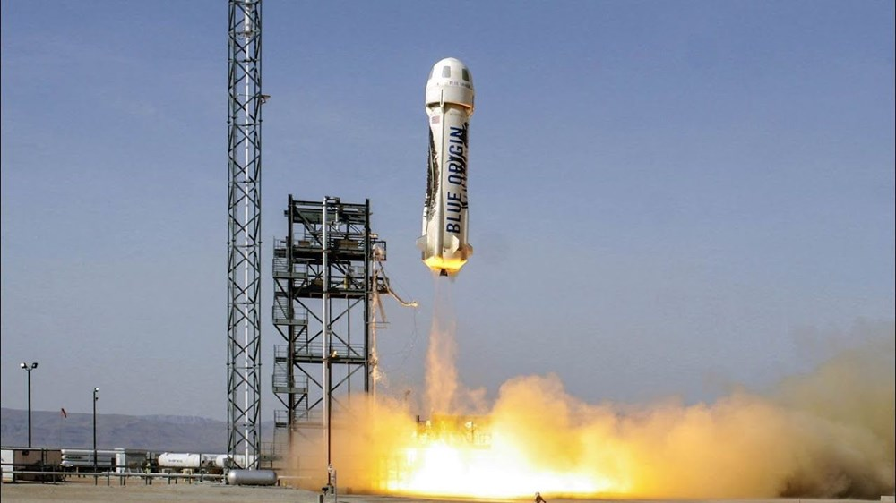 Blue Origin uzay için tarih verdi: 1 koltuk satışta - 1