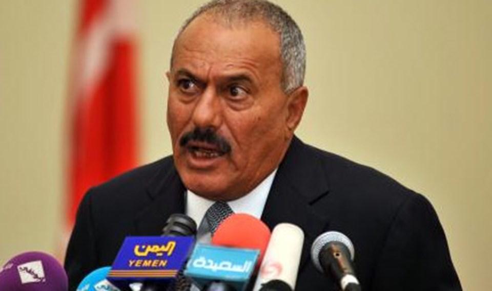 Yemen Devlet Başkanı Ali Abdullah Salih.
