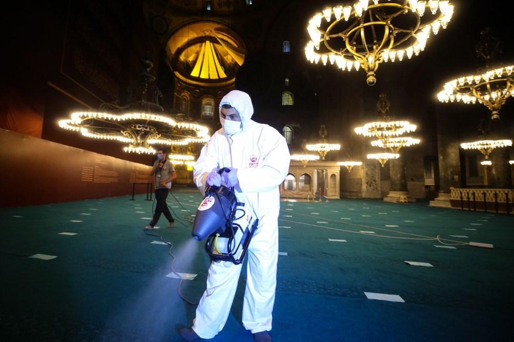 Ayasofya-i Kebir Cami-i Şerifi'nde 86 yıl sonra ilk bayram namazı - 19