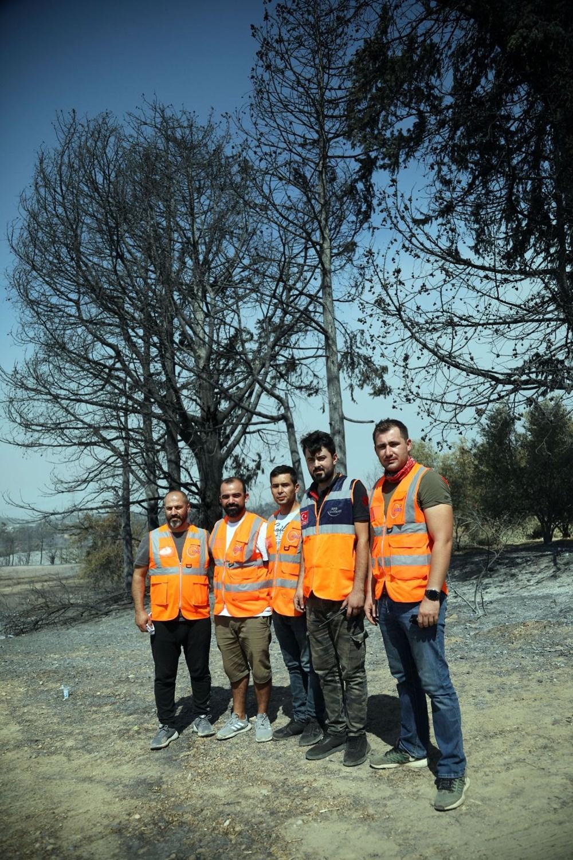Orman yangınında gönüllülerin asılsız ihbar mesaisi - 7