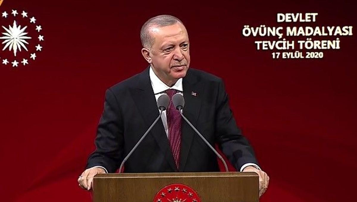 Cumhurbaşkanı Erdoğan:Türkiye'nin şantaj ve tehdide boyun eğmeyeceğini anladılar