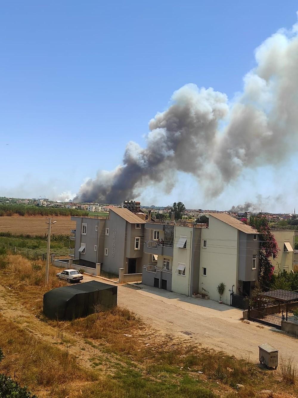 Antalya Manavgat'ta büyük yangın - 19