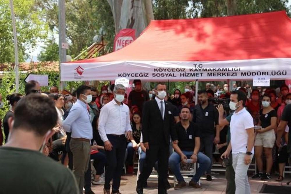 Muğla'da 'orman şehidi' törenle son yolculuğuna uğurlandı - 23