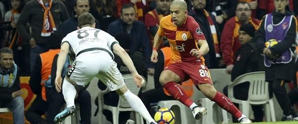Galatasaray 2. yarıdaki gollerle güldü
