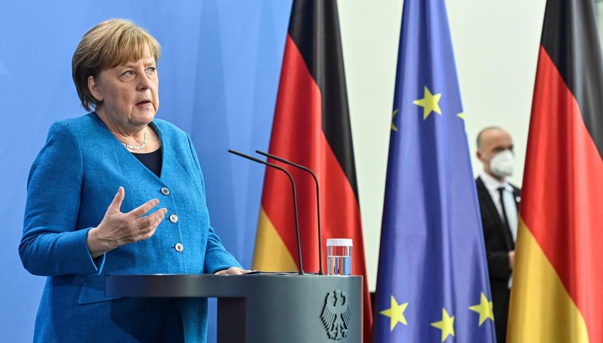 Merkel'den aşı patenti açıklaması