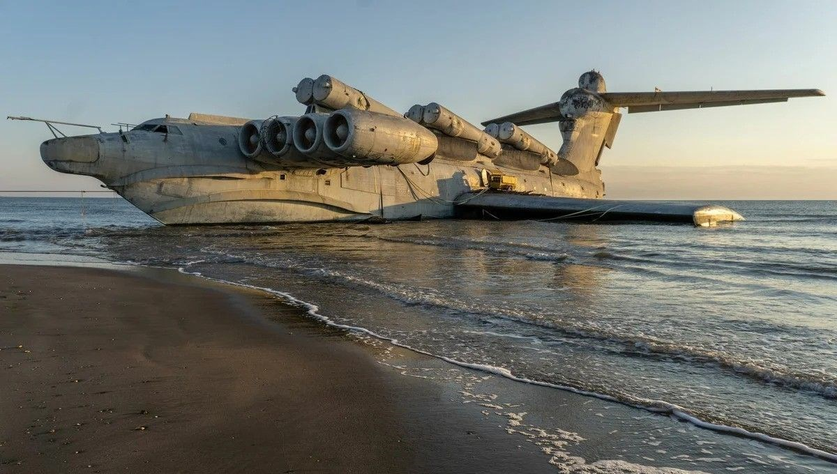 The secret weapon of the Russians: Ekranoplan