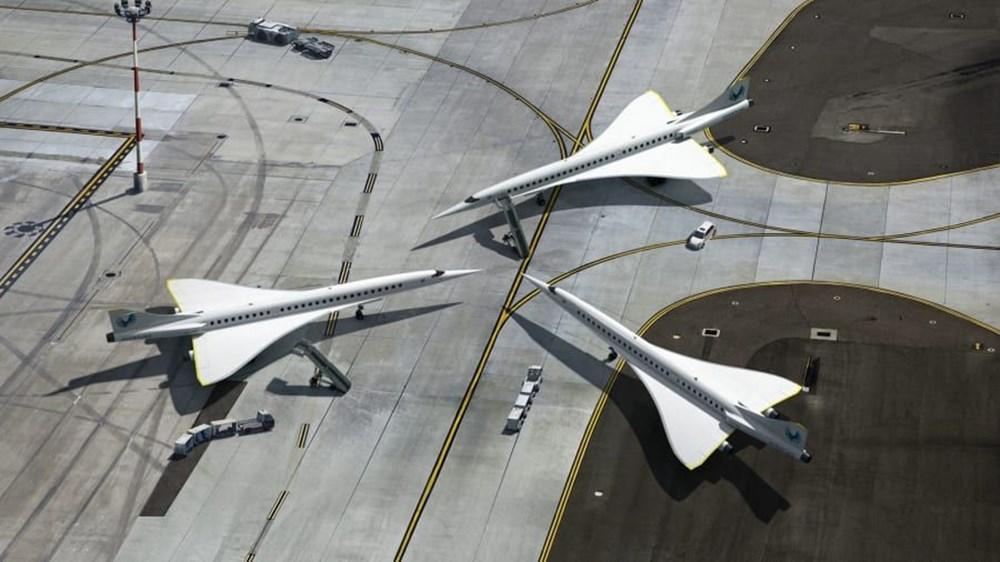 ABD'li şirket: En uzun uçuş 4 saate inecek - 9
