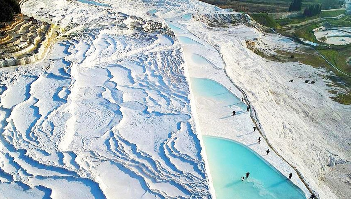'Turkey's white paradise' came time to Pamukkale entrance fee (2021 Pamukkale entrance fees)