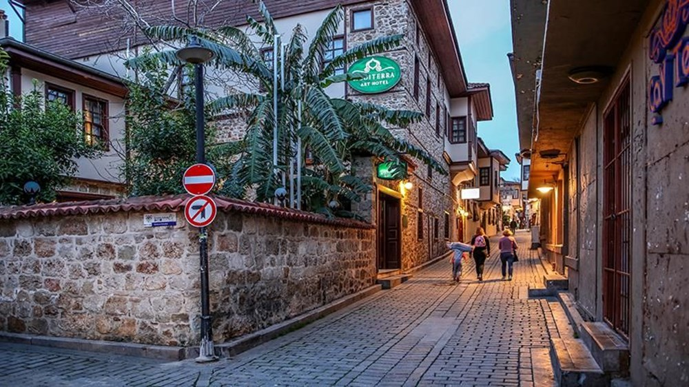 Antalya'nın geçmişe açılan kapısı 'Kaleiçi' - 8