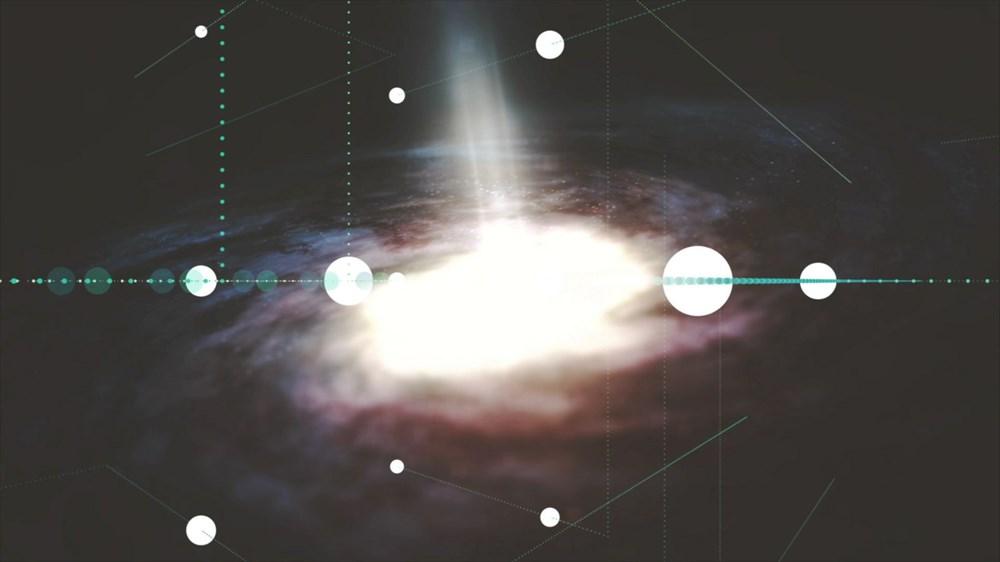 NASA, Andromeda galaksisinin etrafındaki devasa haleyi ilk kez haritalandırdı - 6