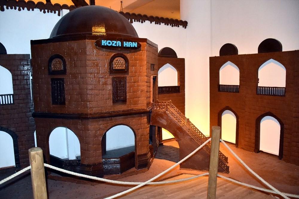 Bursa'nın en tatlı müzesi: 8 ton çikolata kullanıldı (Bursa Çikolata Müzesi) - 4