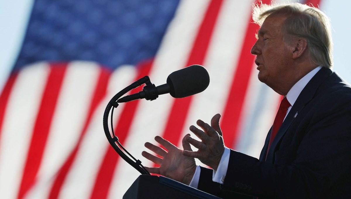 Trump'tan posta yoluyla gönderilen oylara tepki: Oylarım sihirli bir şekilde yok olmaya başladı