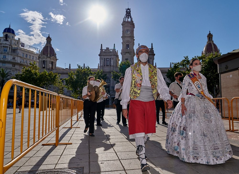 Avrupa'nın en ateşli festivali 'Las Fallas' - 6