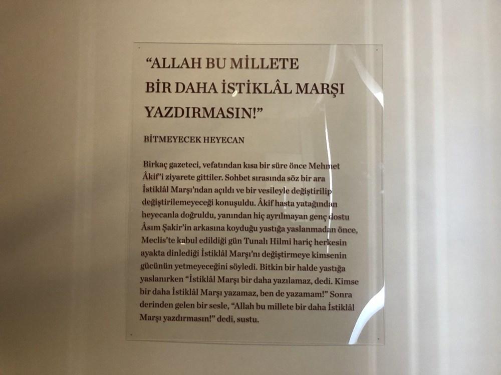 Mehmet Akif Ersoy Hatıra Evi açıldı - 7