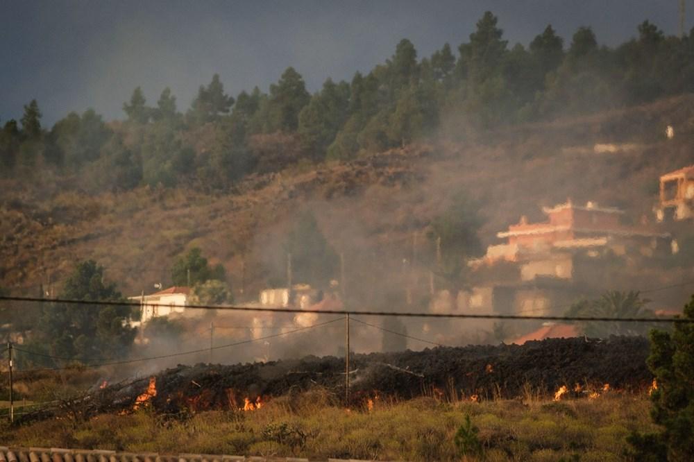 Kanarya Adaları'ndaki Cumbre Vieja yanardağı faaliyete geçti: 5 bin kişi tahliye ediliyor - 4