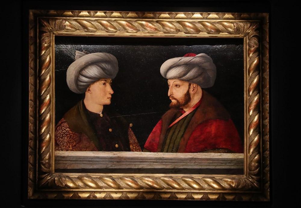 Fatih Sultan Mehmet'in tablosu ilk kez gösterildi - 4